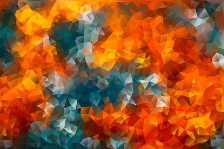 vector multicolored abstract background of effect geometric