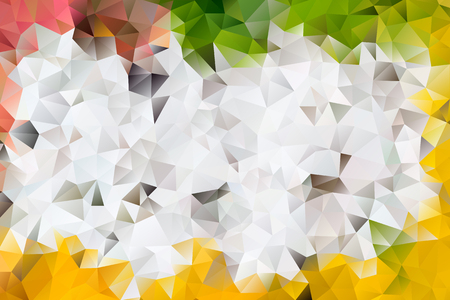 A vector multicolored abstract background of effect geometric triangles.