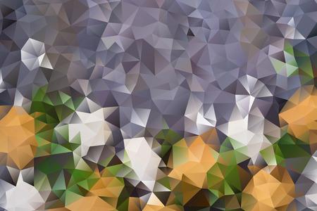 Vektor bunten abstrakten Hintergrund der Wirkung geometrische Dreiecke.