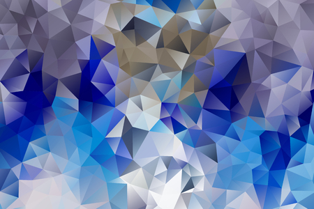 vector multicolored abstract background of effect geometric triangles. Vectores
