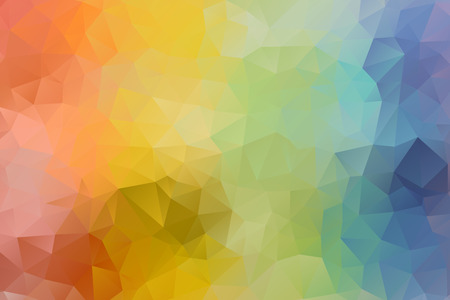 vector multicolored abstract background of effect geometric triangles. Ilustrace