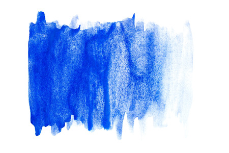 Abstract watercolor art hand paint on isolated white background. Watercolor background.