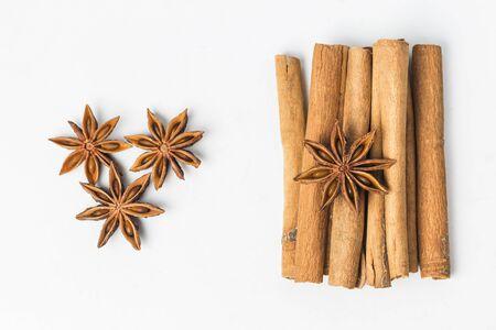 anise: Star anise, and cinnamon