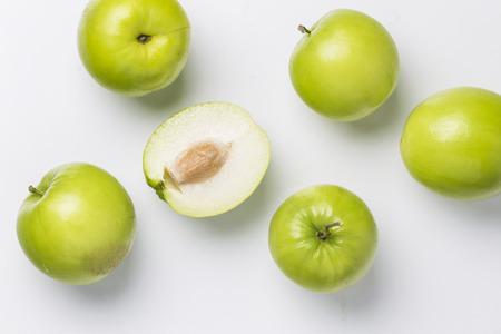 jujube fruits: Ziziphus mauritiana