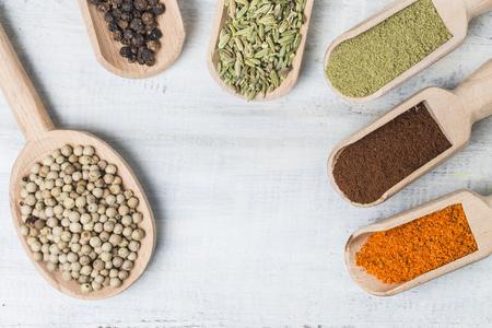 fenugreek: Flavor ingredient Stock Photo