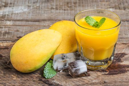 Mango sap  Stockfoto