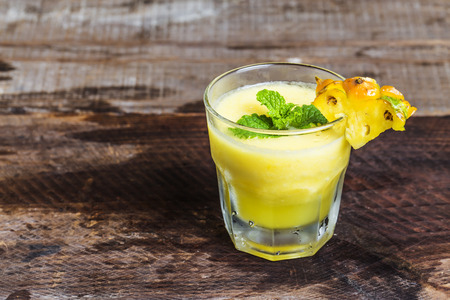 pineapple juice: Pineapple Juice Stock Photo