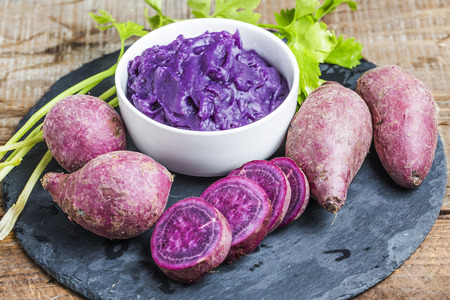 Purpere zoete aardappel