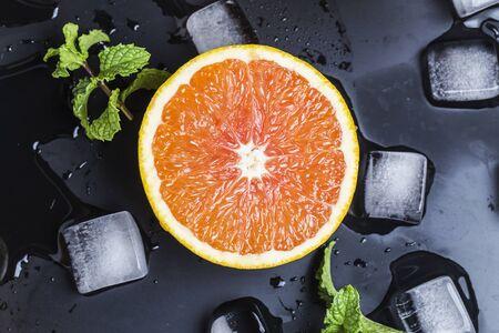 icecube: fresh orange