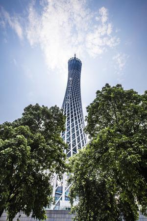 tv tower: Guangzhou TV Tower