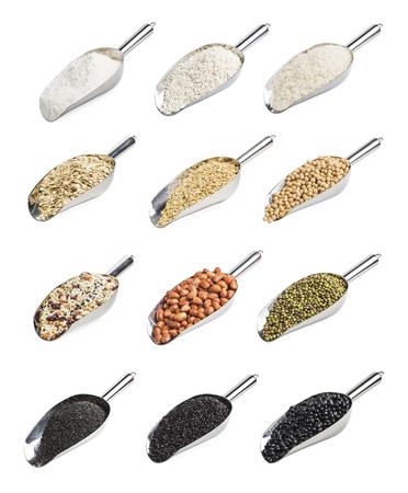 black gram: Cereals, grains, beans, soybeans, rice, rice, sesame, peanut, mung bean flour.