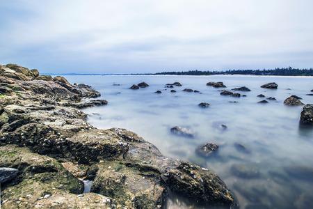 Seaside, reef Stock Photo