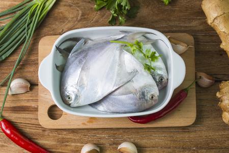 Fresh butterfish Zdjęcie Seryjne