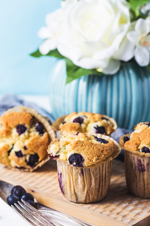 Fresh baked Blueberry Muffin