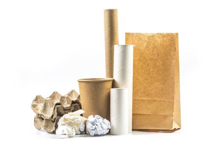 Waste paper, waste regeneration