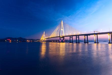 A grand bridge, Shantou, China