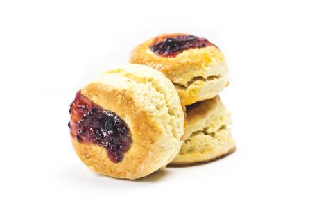 scone isolated on white background