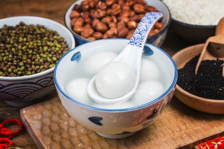 Glutinous Rice Balls for Lantern Festival in China