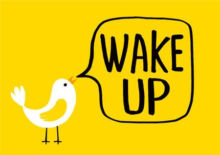 Wake up alarm clock icon,vector illustration Vector Illustratie