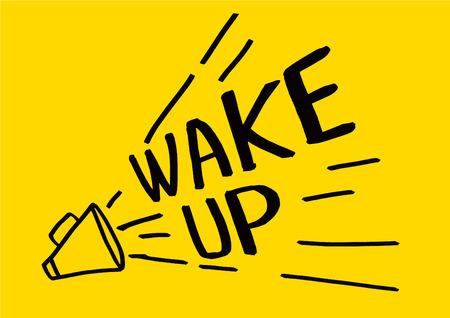 Wake up alarm clock icon,vector illustration