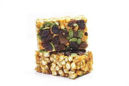 Chinese traditional dessert - Caramel treats (Sachima) Imagens