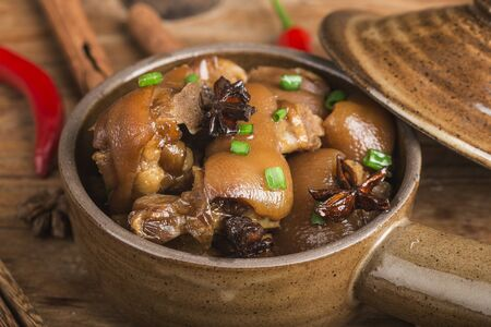 Delicious Spicy Pork Trotters