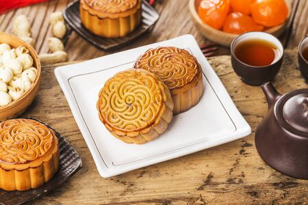 Mid Autumn Festival Chinese Traditional Pastry Mooncake
