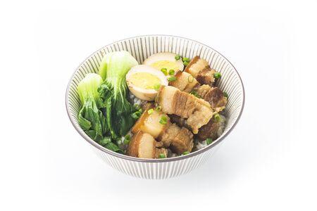 Chinese cuisine - braised pork rice