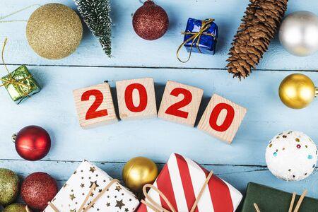 Happy new year 2020 background 写真素材 - 133286418