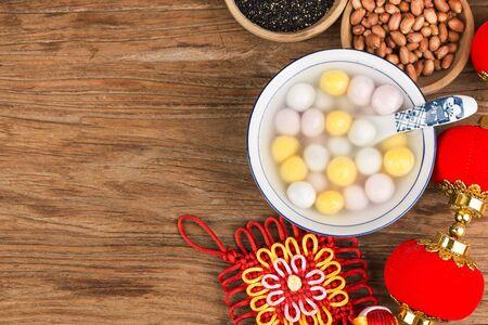 Chinese Lantern Festival food - tangyuan