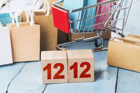 China December 12th E-commerce Shopping Festival, online shopping concept 写真素材 - 134265047