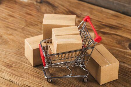 China December 12th E-commerce Shopping Festival, online shopping concept 写真素材