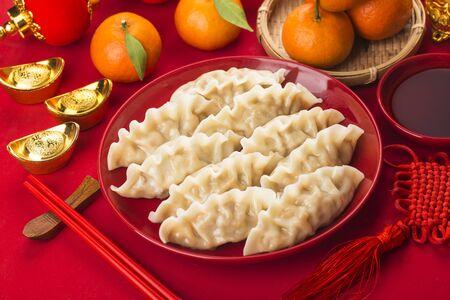 Dumplings for Chinese Spring Festival