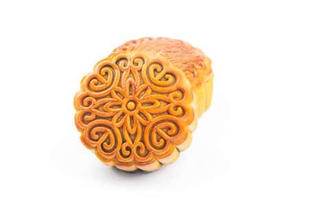 Mooncake,Chinese mid autumn festival food.
