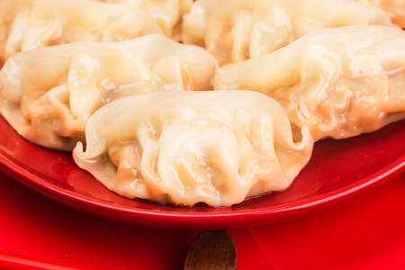 Chinese Food: Dumplings for Traditional Chinese Holidays 写真素材 - 161935799