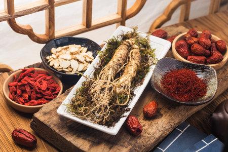 Fresh ginseng and herbal