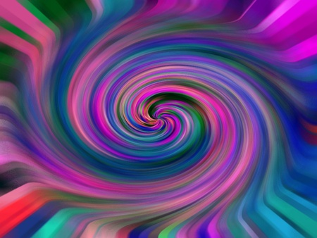 lingering: A Swirling Mass of Color and Texture
