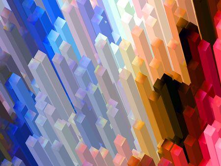towering: Towering Crystals Stock Photo