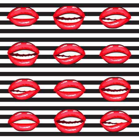 hot lips: hot lips cartoon collection