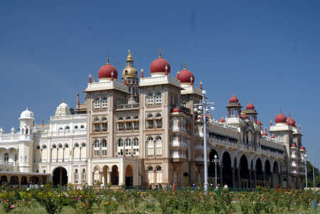 Maharaja Palaceat Mysore in India.