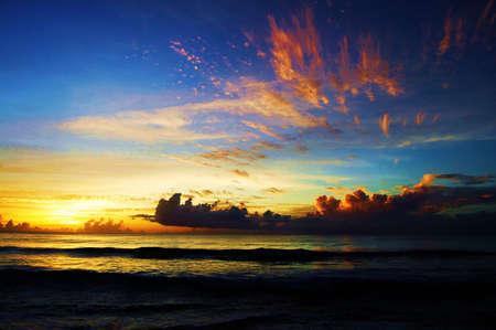 barbados: Barbados sunset