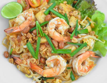 padthai: Thai style noodles or padthai ,Delicious food