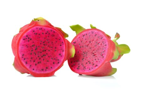 dragonfruit: dragonfruit  isolated on a white background Stock Photo