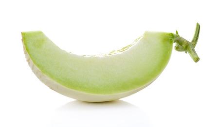 Fresh honeydew Melon isolated  on White Background