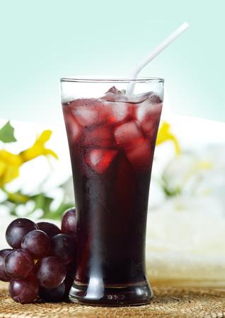 Grapes Juice 版權商用圖片