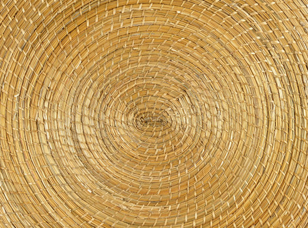 basketry: circle basketry pattern texture background