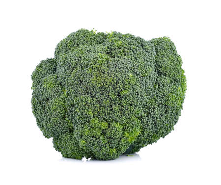 brocoli: Fresh broccoli  on white background