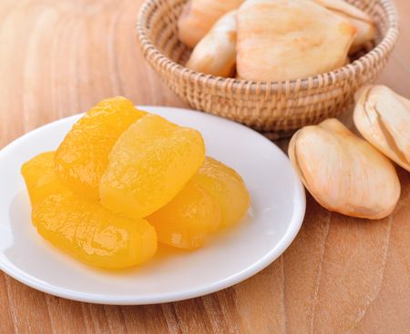 toddy palm: Fresh Toddy Palm  and Toddy Plam dessert Stock Photo