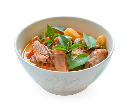 Duck curry ,Thai cuisine