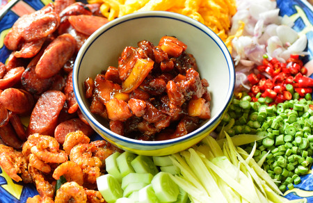 Thai food,kao cook kapi